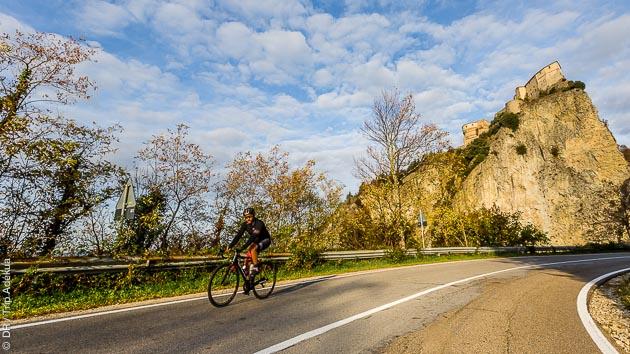 Séjour cyclo en Italie