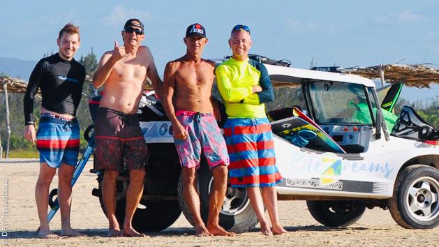 vacances kite au Brésil pendant la crise covid
