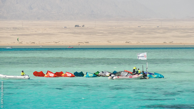 séjour kitesurf à Safaga en Egypte