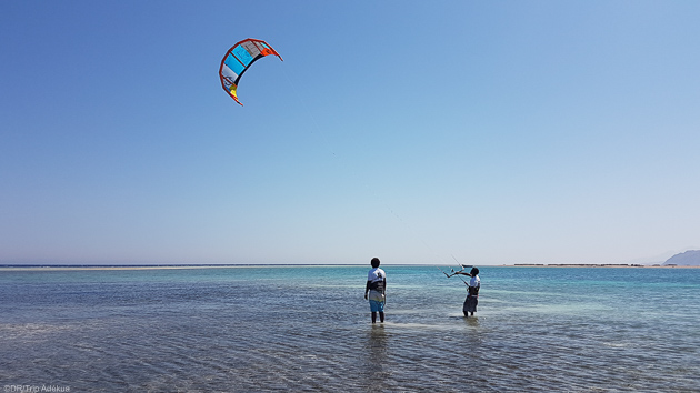 Séjours kitesurf à Dahab en Egypte