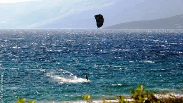stage de kitesurf en Grèce