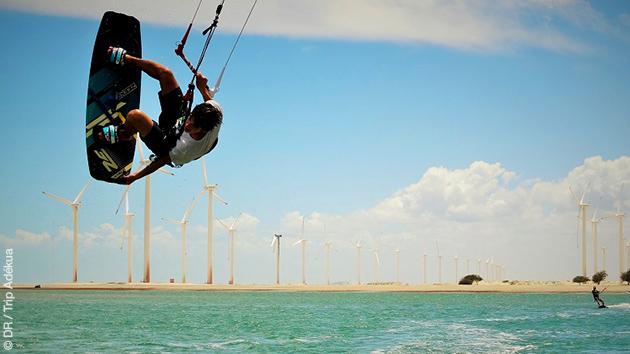 stage de kitesurf au Brésil