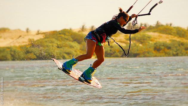 Coaching kitesurf à Lagoinha