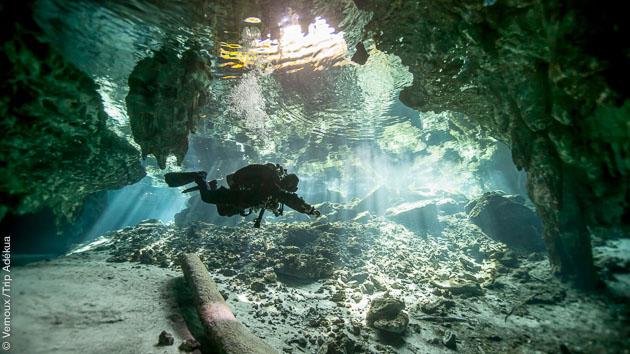 Séjour plongée à la découverte des Cénotes au Mexique