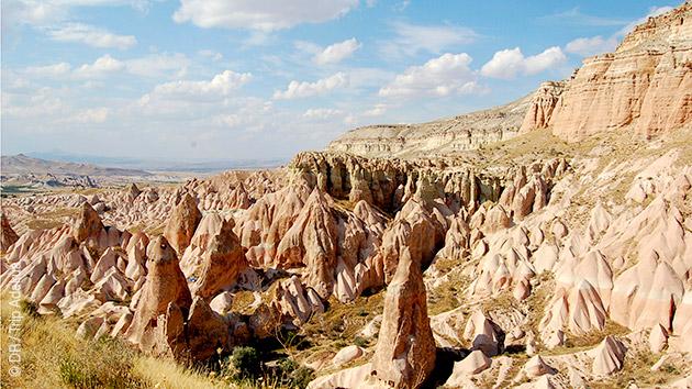 découverte à pieds de la cappadoce et de la Turquie