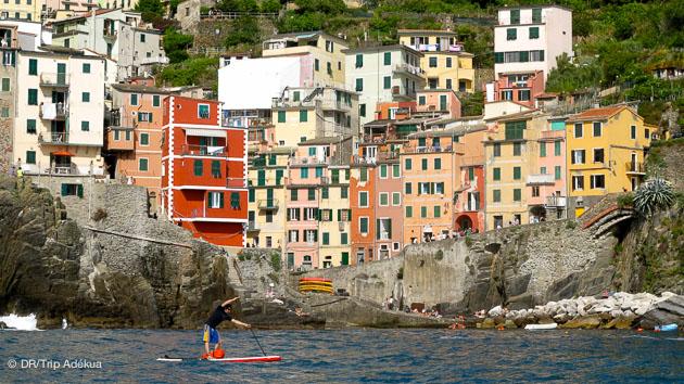 séjour SUP dans les Cinque Terre en Italie