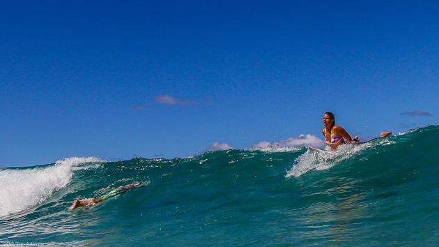 Séjour caoching surf à Bali en Indonésie