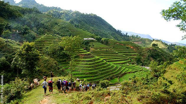 séjour trekking au Vietnam