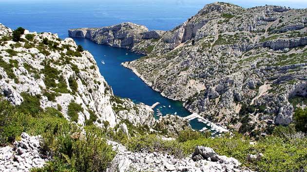 Séjour randonnée trekking de Marseille aux Calanques de Cassis