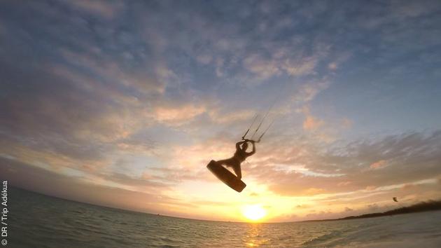 vacances sportives aux Bahamas avec du kitesurf