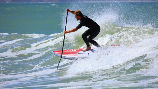 cours de stand up paddle à Agadir
