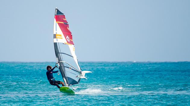 Séjour windsurf à Sal Cap Vert