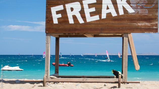 Pour commencer l'année 2021, programmez un séjour windsurf en Grèce