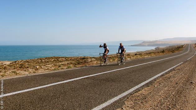 Séjour vélo de route sur la côte marocaine et dans l'Atlas
