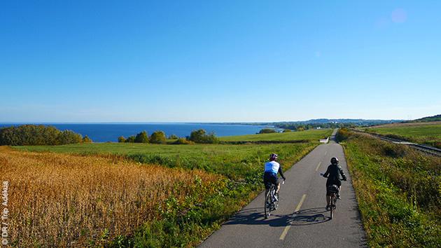 Circuit d'une semaine en vélo au Québec dans la région du Lac Saint Jean