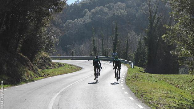 Stage vélo de route en Catalogne