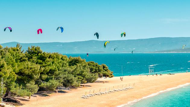 Votre croisière kitesurf en Croatie et dans les îles Dalmates