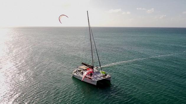 Kitesurf et détente au programme de votre croisière kite en République Dominicaine