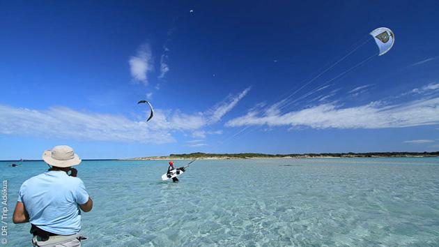 Progressez en kitesurf sur les plus beaux spots de Bonifacio en Corse