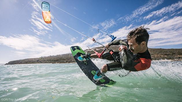 un des meilleurs spots de kite d'epagne