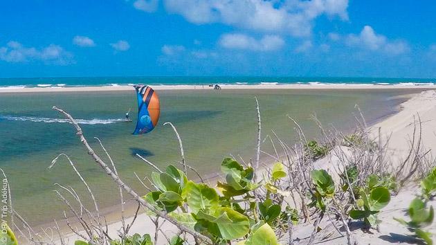 Séjour kitesurf avec cours de perfectionnement au Brésil