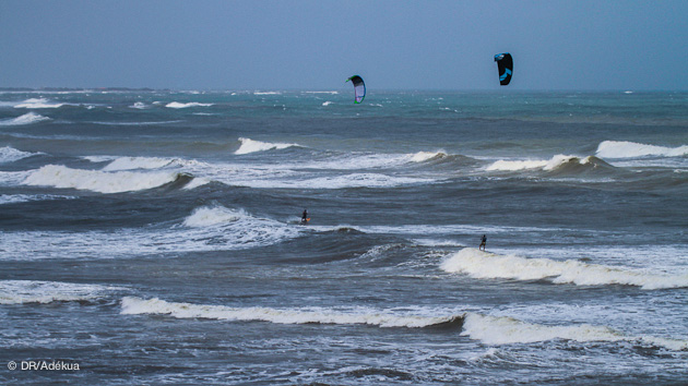 spot de vague d'exception pour le kitesurf à Santa Veronica