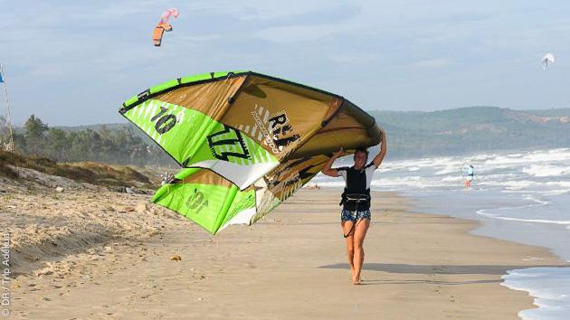 le meilleur spot de kite au Vietnam