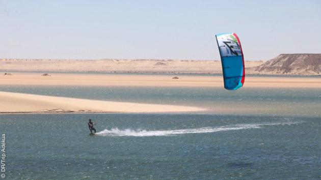 Coaching kite à Dakhla avec video et debrief