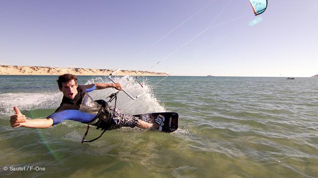 voyage kite à Dakhla avec Adékua