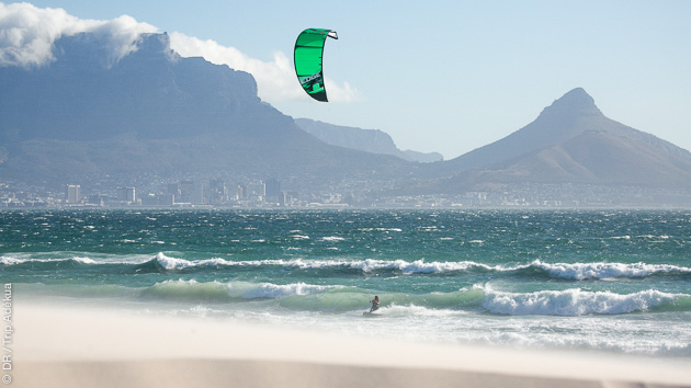 Road trip kitesurf sur les spots de Main Beach, Dolphin Beach et sur les spots de Cape Town