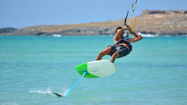 Votre sjéour kitefoil à Boa Vista au Cap Vert avec hébergement