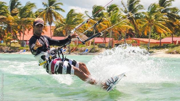 Stage de kitesurf à Cayo Coco, en perfectionnement ou freestyle