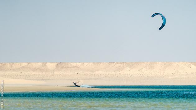 Des vacances kite inoubliables en bungalow de luxe à Dakhla