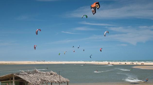 Des vacances kite inoubliables au Brésil à Taiba