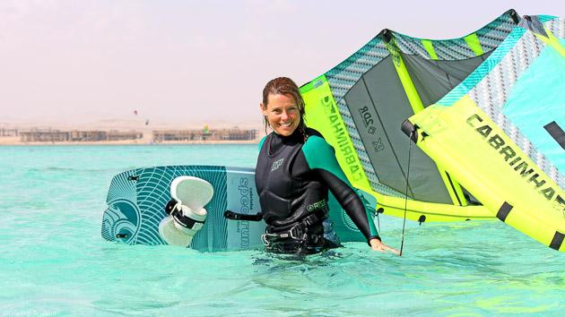 Un séjour kite inoubliable dans les eaux translucides de soma Bay