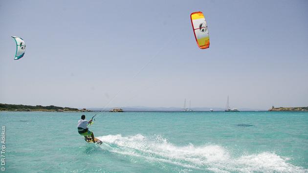 Séjour kitesurf en Corse avec cours de kite et multi-activités