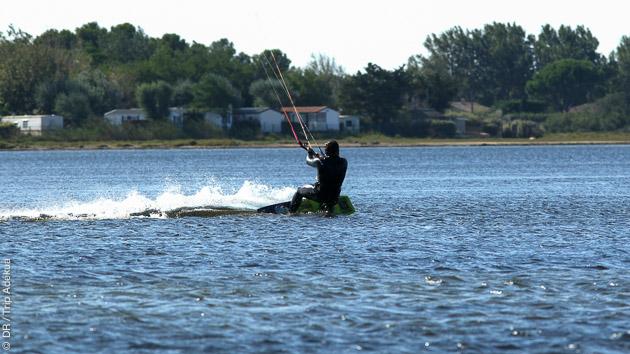 Une semaine de kite en duo à Canet, dans l'Hérault