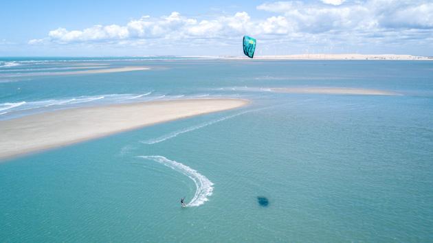 Votre séjour kitesurf sur le post d'Isabelle Fabre au Brésil