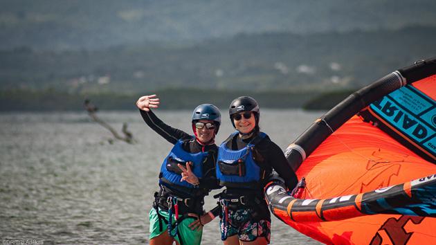 Des cours de kitesurf avec votre hébergement tout confort en Guadeloupe