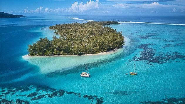 Explorez les plus beaux atolls de Polynésie pendant votre séjour à Tahiti