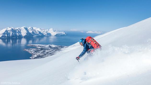 Des sessions uniques sur les plus beaux itinéraires de ski de randonnée en Norvège