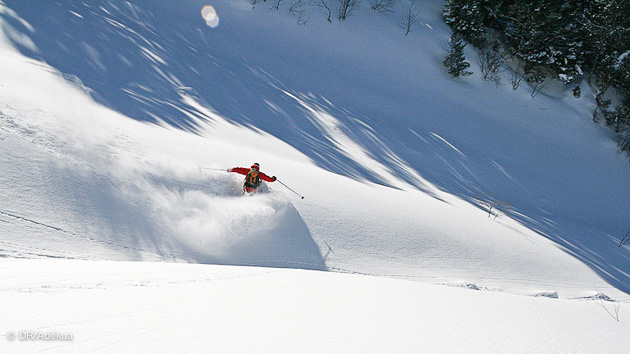 Faites parler la poudre pendant ce week end ski free ride en amoureux à Gresse en Vercors