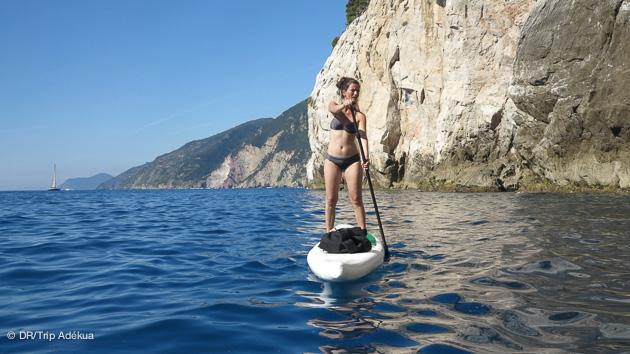 séjour avec du sup paddle en Italie