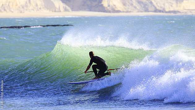Coaching SUP avec hébergement dans un riad privatisé, à Agadir