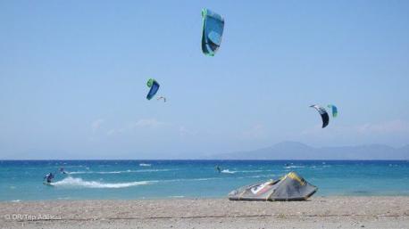 bon vent pour votre stage de kite à Rhodes