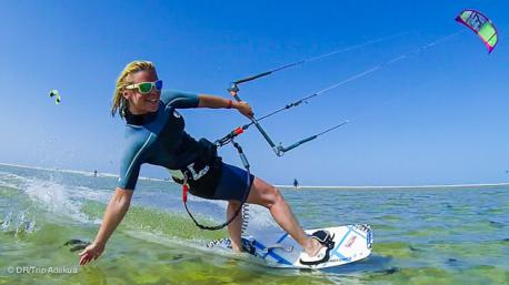 votre stage de kitesurf sur la lagune de Djerba