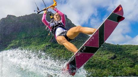 Séjour kitesurf à l'Ile Maurice avec cours et hébergement