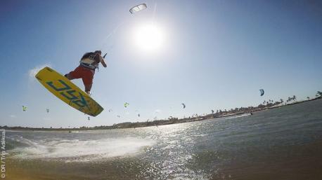Vacances kitesurf en famille au Brésil, dans la région du Nordeste