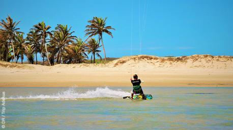 Stage de kite selon vos envies à Pontal de Macéio, Brésil