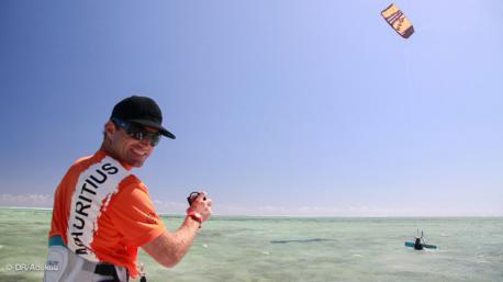 votre agent local à Maurice expert kite
